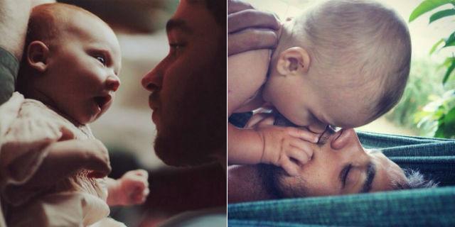 20 meravigliose foto di papà con i loro bambini