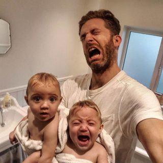 Essere papà di quattro figlie: il fotoracconto