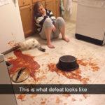 20 snapchat di persone che hanno avuto una giornata più brutta della tua