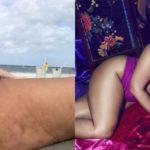 """La modella Ashley Graham, selfie alla cellulite: """"Non mi vergogno"""""""