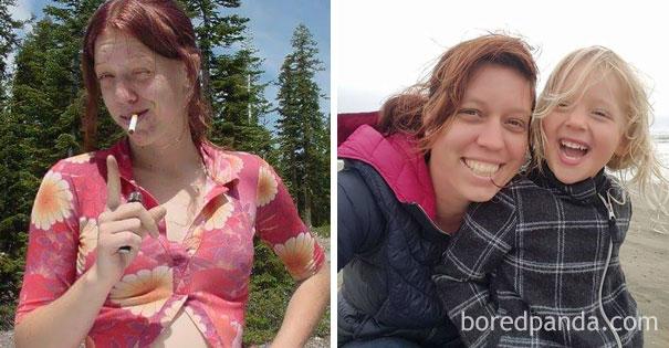 Prima e dopo la droga: la trasformazione di 20 persone che hanno smesso