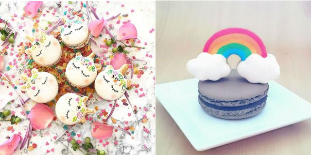 Unicorn Macarons: arrivano i dolcetti più magici e colorati del mondo