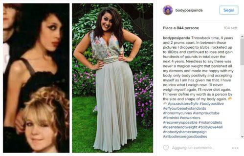 Il ballo super sexy della blogger ex anoressica per la vera bellezza