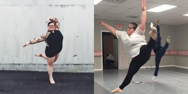 La leggerezza di Lizzy, ballerina oltre gli stereotipi