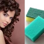 Come arricciare i capelli con delle spugne