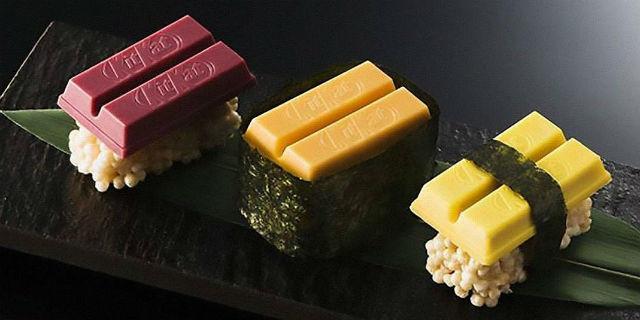 Tutti pazzi per il Kit Kat Sushi e gli altri strani Kit Kat! Ma sono in edizione limitata