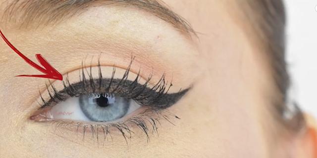 Come applicare l'eyeliner