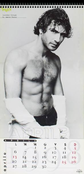 Da Luca Argentero a Gabriel Garko: i più sexy nudi maschili dei calendari Max