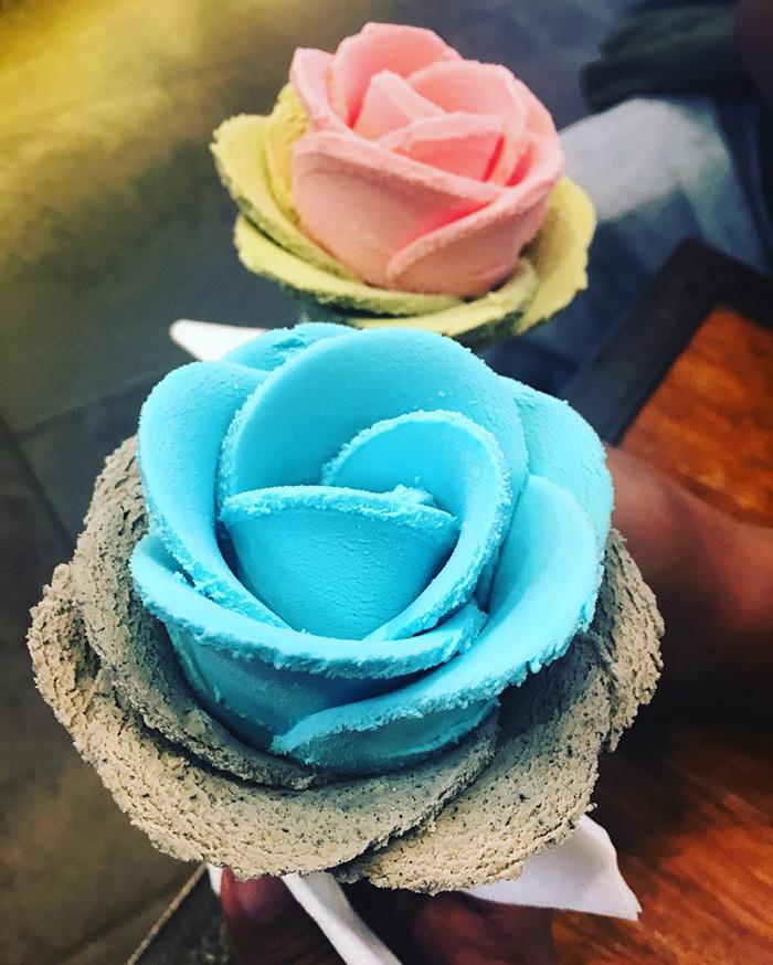 Questi gelati sono i mazzi di fiori che vogliamo per San Valentino