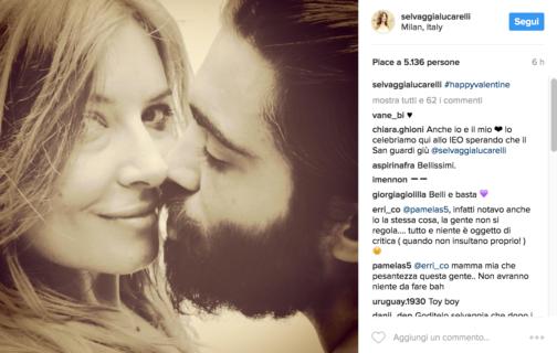 San Valentino: da Belen a Nek, le più belle dichiarazioni d'amore dei VIP