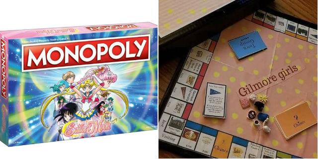 Da Sailor Moon alle Gilmore Girls: qual è il Monopoly che fa per te