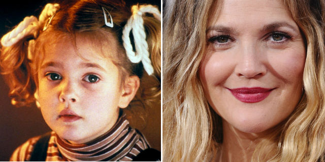Da E.T a Santa Clarita Diet: com'è cambiata Drew Barrymore