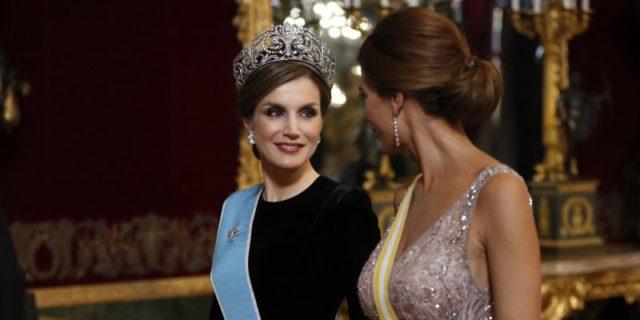 La regina e la first lady: Letizia e Juliana come nelle favole