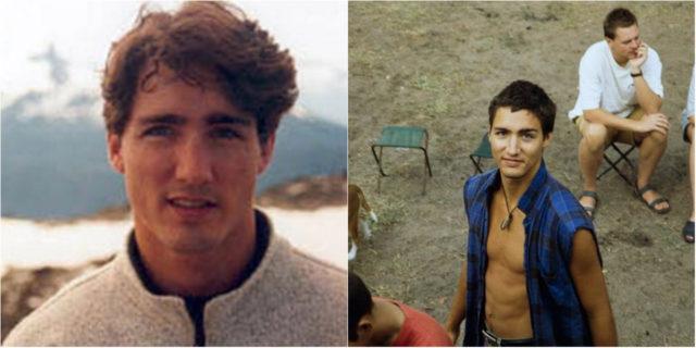 La stampa mondiale sta impazzendo per le foto da giovane di Justin Trudeau