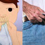15 cose disgustose che gli uomini fanno di nascosto che non si possono dire