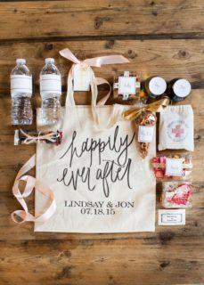 10 idee bellissime per la wedding bag per un matrimonio indimenticabile