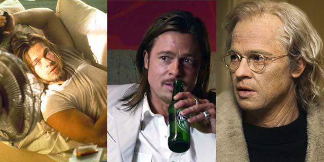 Brad Pitt: tutti i volti di un sex symbol. Capelli bianchi compresi