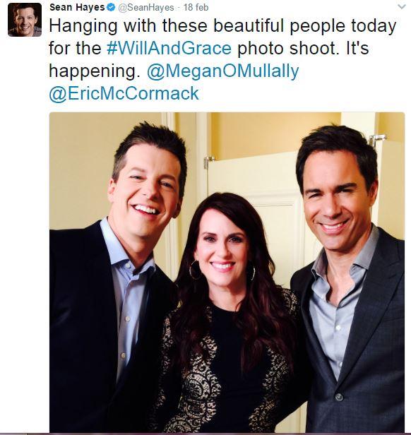 Will & Grace: manca poco al ritorno! Intanto ecco le foto social del cast