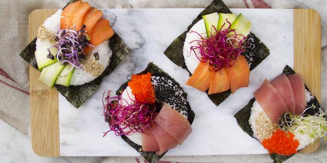Il nuovo trend dei sushi lovers: i sushi donuts