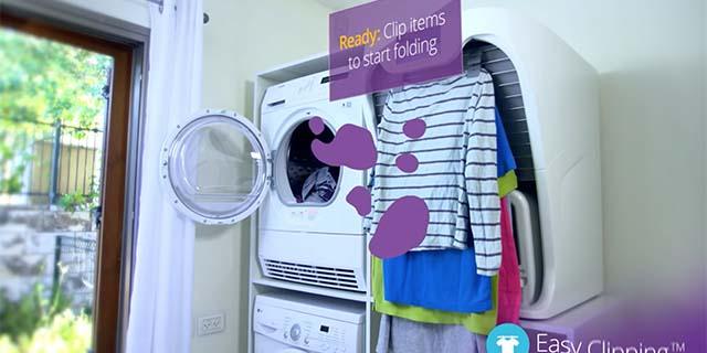 Foldimate, il robot che piega (e profuma) camicie e bucato al posto tuo