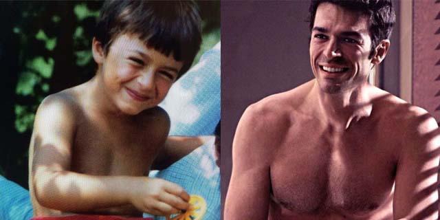 I 39 anni (meravigliosi) anni di Luca Argentero in 39 scatti
