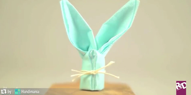 Come realizzare di simpatici coniglietti per la tavola di Pasqua