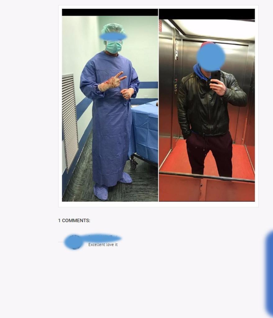 """Tra sangue e morte, gli agghiaccianti selfie dei medici: """"Ora basta!"""""""