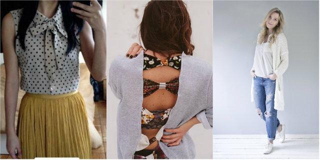 Moda fai da te: come creare un guardaroba nuovo con vestiti vecchi