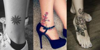 Tatuaggi alla caviglia