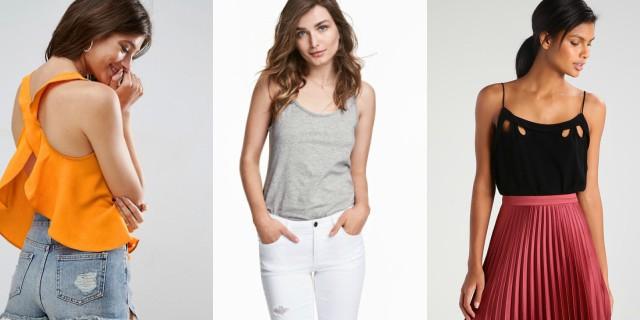 Canottiera is... sexy! 12 modelli che stanno bene a tutte