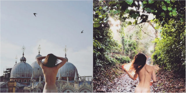 "Cheeky exploits, la nuova tendenza Instagram ""panorama + lato B"""