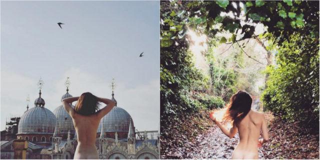 """Cheeky exploits, la nuova tendenza Instagram """"panorama + lato B"""""""