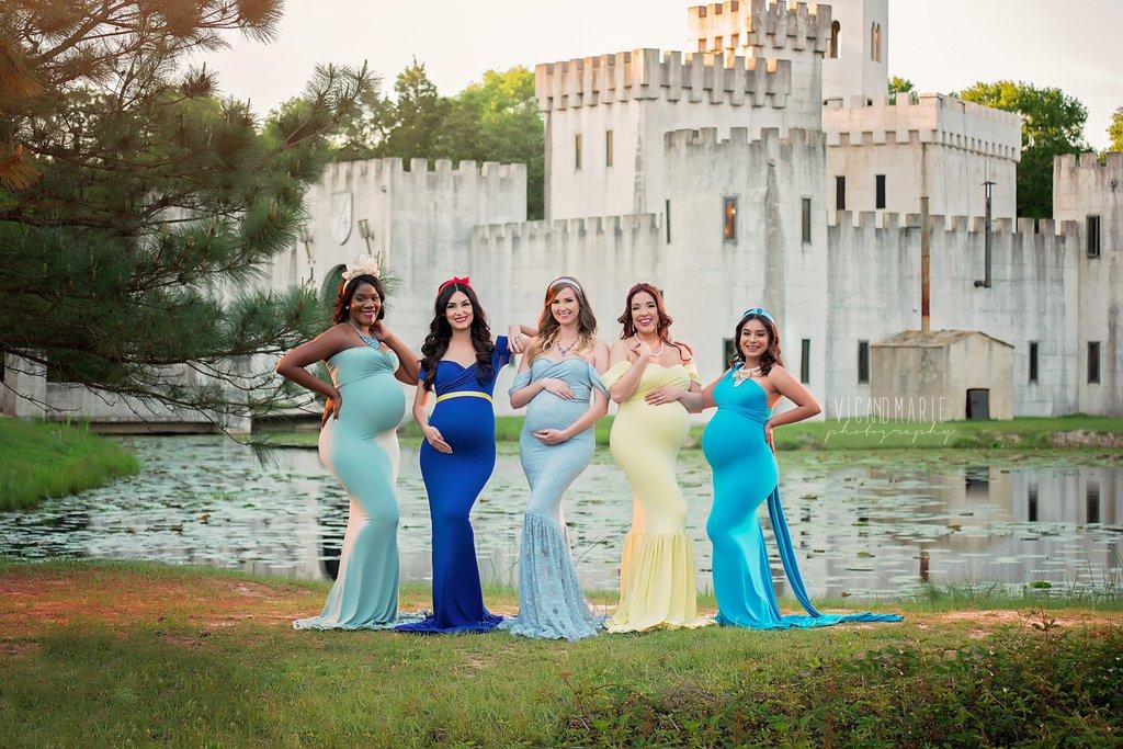 Le principesse Disney sono incinte: la magia diventa realtà