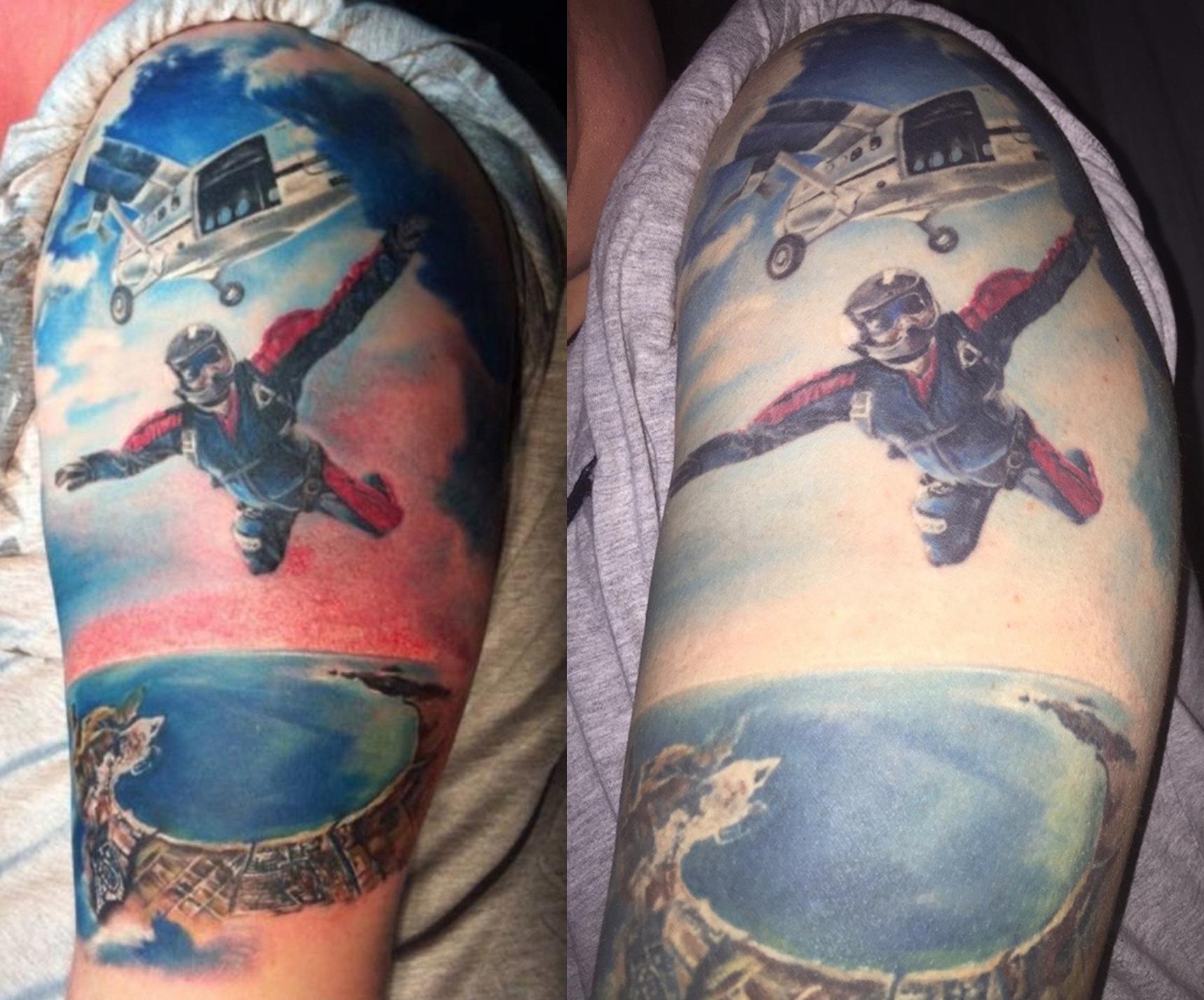 Le rughe dei tatuaggi: quando i tattoo invecchiano