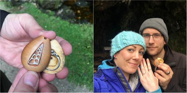 """Indossa per un anno il suo anello di fidanzamento """"nascosto"""" senza saperlo"""