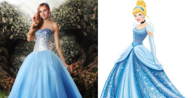 Esiste una collezione di abiti da sera ispirati alla Disney