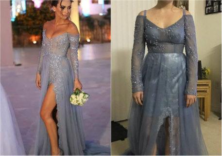Aspettativa vs realtà: abiti da sera acquistati online