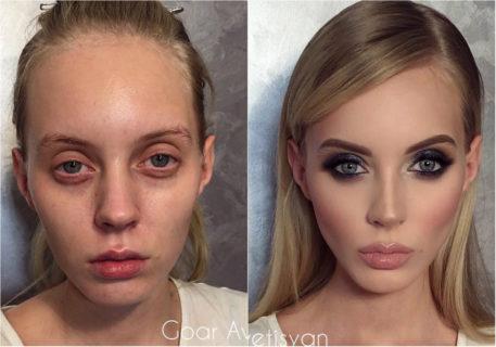 15 donne che cambiano completamente con il trucco (senza photoshop!)