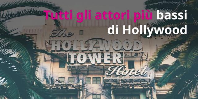 """""""Piccoli"""" giganti: gli attori più bassi di Hollywood"""
