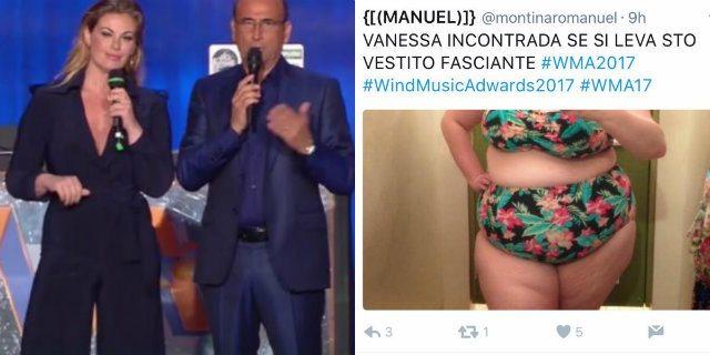 Gli insulti idioti a Vanessa Incontrada per il suo peso