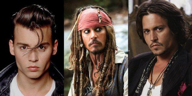 Johnny Depp: storia di un sex symbol camaleontico (non sempre sexy)