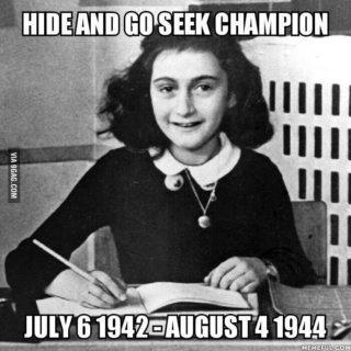 Quei meme agghiaccianti che deridono Anna Frank