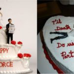 Altro che wedding cake... è divorce cake mania