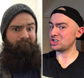 15 uomini con o senza barba che non crederai siano la stessa persona