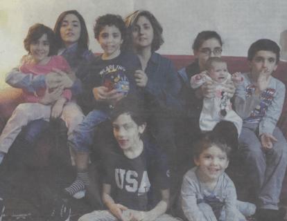 Le mamme super power (e in forma) con famiglie numerose
