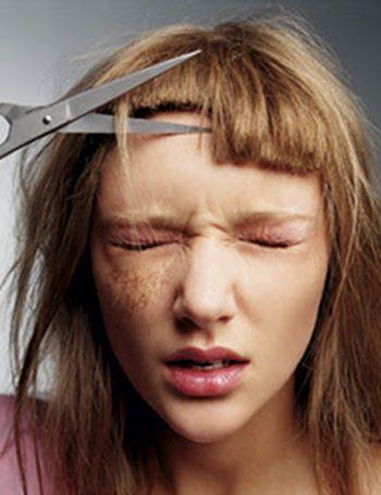 9 cose che solo una ragazza che ha la frangia può capire