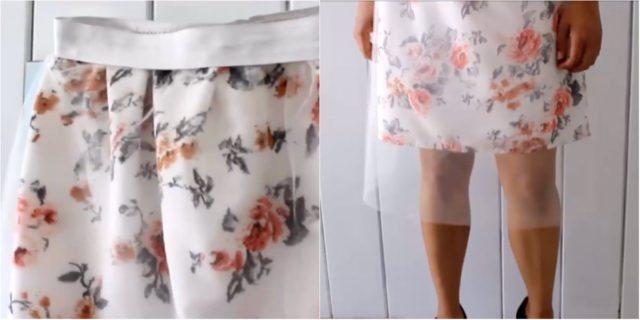 Tutorial DIY: come realizzare questa gonna a fiori con tulle