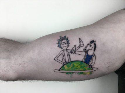 Quando una foto o un film diventano tatuaggi