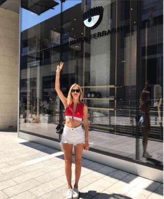 Apre il primo store di Chiara Ferragni (ma occhio alla porta!)
