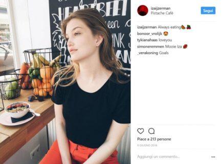 """Iza IJzerman, ecco la sosia di Gigi Hadid definita """"curvy"""" che curvy non è"""